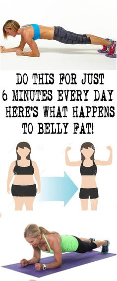 DO THIS FOR JUST 6 MINUTES EVERY DAY – HERE'S WHAT HAPPENS TO BELLY FAT!