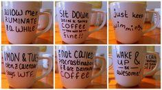 sharpie mugs that actually work!!