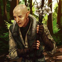 Dragon Age: Inquisition - Solas - by nipuni