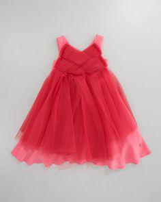 Baby Dior Tulle Dress - Bergdorf Goodman