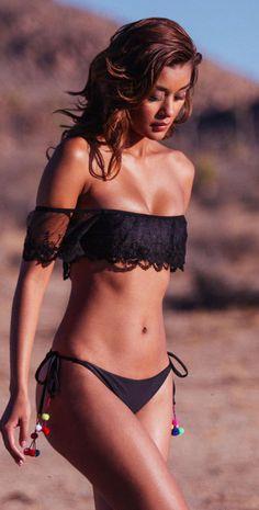 Know one Ellis swim interlinked halter bikini excellent words