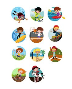 Vector packs and clip art, Vectors illustration, fonts and high resolution Stock Images. Chose from more than 5000 stock graphic files. Image Kids, Outdoor Activities For Kids, Vector Art, Your Design, How To Draw Hands, Clip Art, Games, Illustration, Character