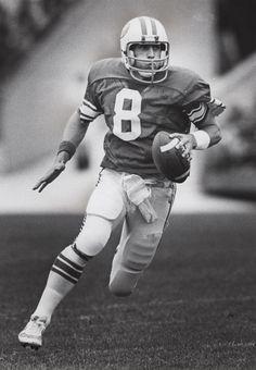 Steve Young, BYU quarterback.  Received Oct. 9, 1982. (Tribune file photo)