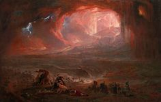 John Martin was raised in a one room english cottage in a small Northumberland town, Haydon Bridge. From this modest upbring Martin would go on to create a vast collection of historical landscapes and a fortune to match. He was Influenced by the work of J.M.W. Turner as well as other history & landscape painters like Theodore Gericault and Salvator Rosa.