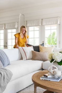 Finally! Our Tips For Pillows on a Sectional