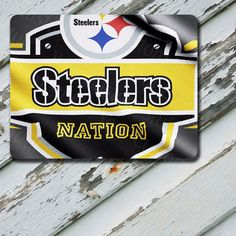 Mousepad Pittsburgh Steelers Nation Flag Design by EastCoastDyeSub