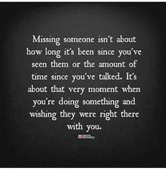 1f809a902f5 This describes perfectly that moment of missing someone