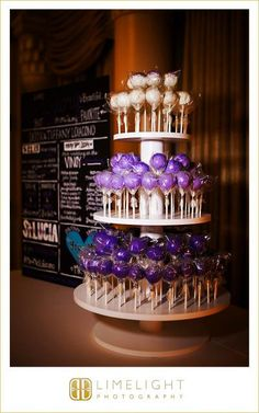 9 Tier Custom Made Large Cupcake Stand Holds up to 275 cupcakes and can be converted to smaller stands.