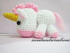 Unicorn Side | Unicorn <3 i made the pattern myself...hopefu… | Flickr