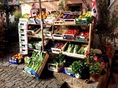 Frisches Obst und Gemüse jeden Donnerstag direkt aus Italien.