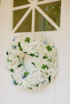 Hydrangea wreath: http://www.stylemepretty.com/living/2015/08/05/diy-summer-floral-wreath/