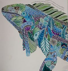 Tropical World by Millie Marotta – Colored by Kelli