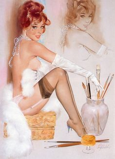 Pin up, por Fritz Willis