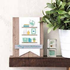 Bookcase Builder Photopolymer Stamp Set - Stampin' Up!