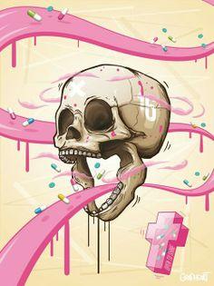 Skull | Pills | Addiction