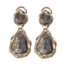 Amy Kahn Russell Labradorite Pyrite Sterling Silver Post Or Clip Earring To Produce An Effect Toward Clear Vision Earrings Fashion Jewelry