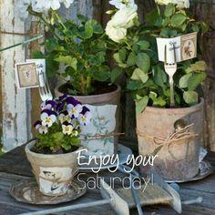 Gypsy Purple home. Gray Garden, Garden Art, Garden Design, Herb Garden, Pot Pourri, Plant Labels, Garden Labels, Garden Styles, Garden Inspiration
