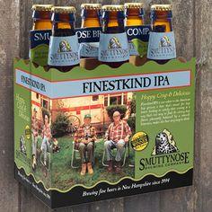 Finestkind IPA - Smuttynose Brewery Hampton, New Hampshire  6.9% ABV  73.5 IBU