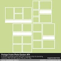 Postage Frame Photo Clusters No. 04