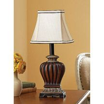 Walmart: Better Homes and Gardens Table Lamp, Champagne