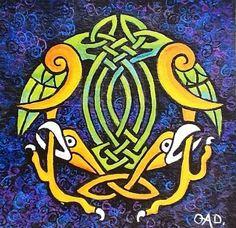 Celtic birds