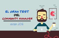 Nueva versión del Gran Test del Community Manager que pondrá a prueba tus conocimientos sobre redes sociales ¿Podrás superarlo?