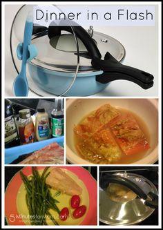 Anna Boiardi 4 Piece Fast Cooker. #Giveaway #Recipe #Sponsored