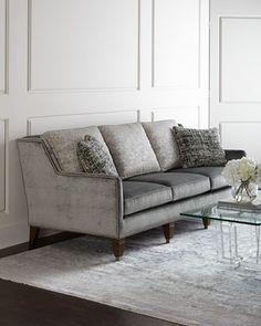 Desoto Sofa by Massoud at Horchow.  Love this gray sofa!