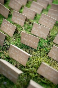 REVEL: Moss and Kraft Escort Cards