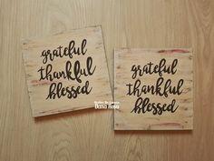 Grateful...thankful...blessed