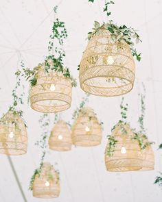 This couple mixed Eastern-shore style with laid-back California beauty to create their romantic big day. What an incredibleway to elevate your wedding reception! Wedding Lanterns, Tent Wedding, Wedding Centerpieces, Rustic Wedding, Centerpiece Ideas, Wedding Reception, Hanging Wedding Decorations, Quinceanera Centerpieces, Wedding Greenery