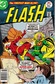 Flash 249  May 1977 Issue  DC Comics  Grade VF by ViewObscura