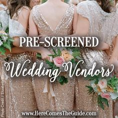 SoCal Prescreened wedding vendors