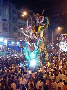 Ganesha visarjan 2015