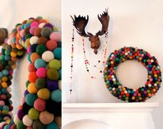 great ideas for DIY wreaths - gonna try 2 or 3 of them