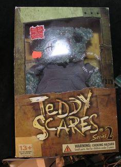 "TEDDY SCARES SERIES 2 Mundy Drudge 12"" TEDDY BEAR #TEDDYSCARES"