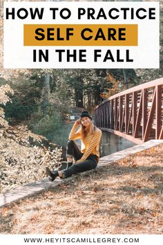 How to Practice Self Care in the Fall. With the weather getting colder, learn how you can take care of yourself during the fall season. | Hey Its Camille Grey #fall #selfcare #candles #howto