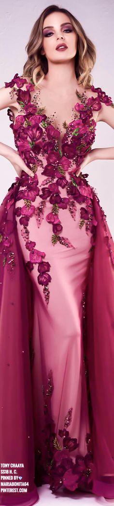 Tony Chaaya SS18 Haute Couture