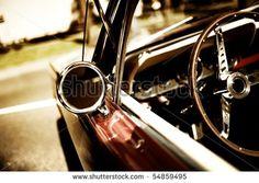 retro car fragment