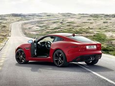 2014 Jaguar F-Type S Coupe. Go ahead...Get in....It's your turn to drive!