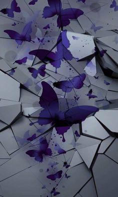 🌟 Jo's stuff 🌟 Pretty Phone Wallpaper, Samsung Galaxy Wallpaper, Purple Wallpaper, Butterfly Wallpaper, Wallpaper Backgrounds, Colorful Backgrounds, Phone Wallpapers, Bon Iver, Post Malone