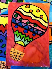 In the past, a hot air balloon was a common sight to see at local state and county fairs. We ended our fair unit with 5th graders creating ...