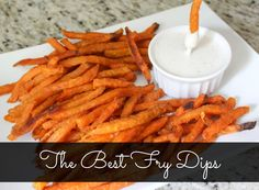 Who doesn't love yummy delicious dips for fries? Learn the best ones here and a great recipe for what to do with your leftover fries! AD #FarmToFlavor
