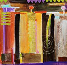 Sherri Thompson Acrylic On Canvas