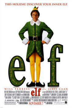 Elf (2003) After inadvertently wreaking havoc on the elf community due to his ungainly size, a man raised as an elf at the North Pole is sent to the U.S. in search of his true identity...11b