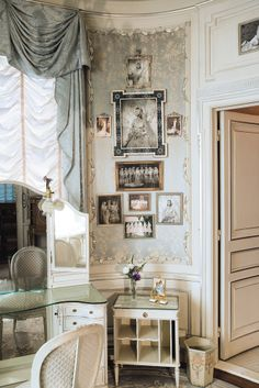 Marjorie Merriweather Posts Dressing Room At The Hillwood Estate In Washington DC