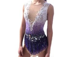 Rhythmic Gymnastic Leotard Figure Skating by SparklingGraces