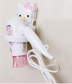 Cheap hair dryer holder, Buy Quality dryer holder directly from China bathroom shelves plastic Suppliers: Kawaii Bathroom Accessories Hello Kitty Doraemon Plastic Hair Dryer Holder KT Bathroom Shelf Enjoy ✓Free Shipping Worldwide! ✓Limited Time Sale ✓Easy Return. Hello Kitty Haus, Hello Kitty Items, Hello Kitty Products, Hello Kitty Accessories, Wall Hanging Shelves, Bathroom Shelves, Cheap Hair Dryer, Decoracion Hello Kitty, Hello Kitty Bathroom