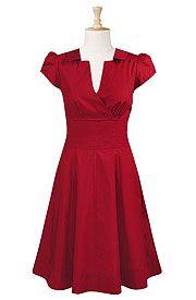 Loving the 50's style dress!