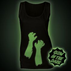 Glow in the Dark Women's Tops & Vests - Glow Clothing Ethical Clothing, Vests, The Darkest, Women's Tops, Glow, Shirts, Clothes, Design, Ethical Fashion
